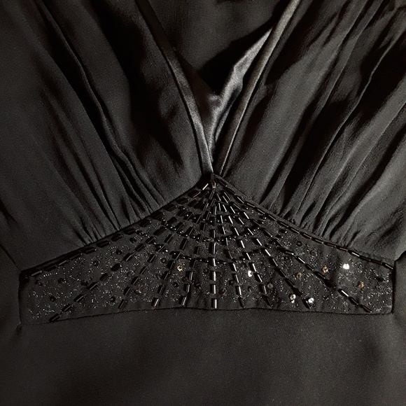 Jones New York Dresses & Skirts - Jones New York Black Silk Evening Dress - Sz 6